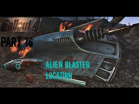 Fallout 4 - Part 16 (PS4 Broadcast)(Alien Blaster)