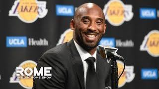 Kobe Bryant Dies In Helicopter Crash At Age 41 | The Jim Rome Show