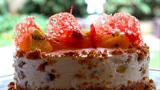 Zespri Golden Kiwi Cheese Cake for Diwali
