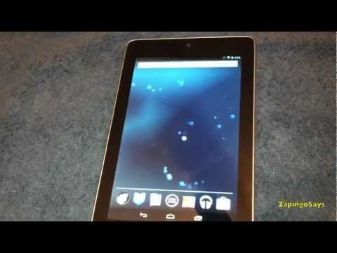 How To Hard Reset Nexus 7 Tablet