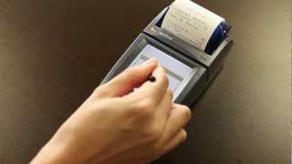 Nurit 8020 - How To Use Your Credit Card Machine