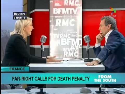France: Far-right calls for dealth penalty in Charlie Hebdo killings