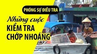 """Những cuộc """"kiểm tra"""" chớp nhoáng của CSGT trên sông Cần Giuộc"""