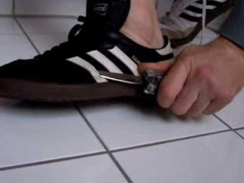 Adidas Samba on Feet Adidas Samba Cut Off The Foot