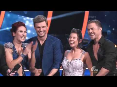 Dancing With Stars Season 21 Week 10 Nick Sharna Bindi