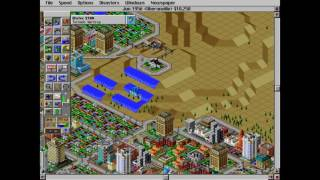sim city 2000 timelapse (10012 - DJ Bar and Grill)