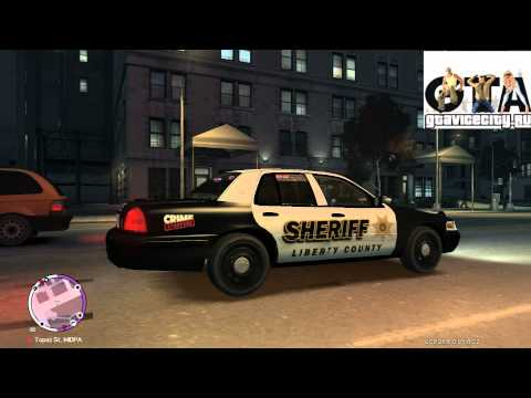 Ford crown victoria sheriff police