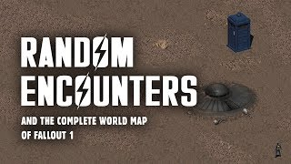 Random Encounters & World Map of Fallout 1