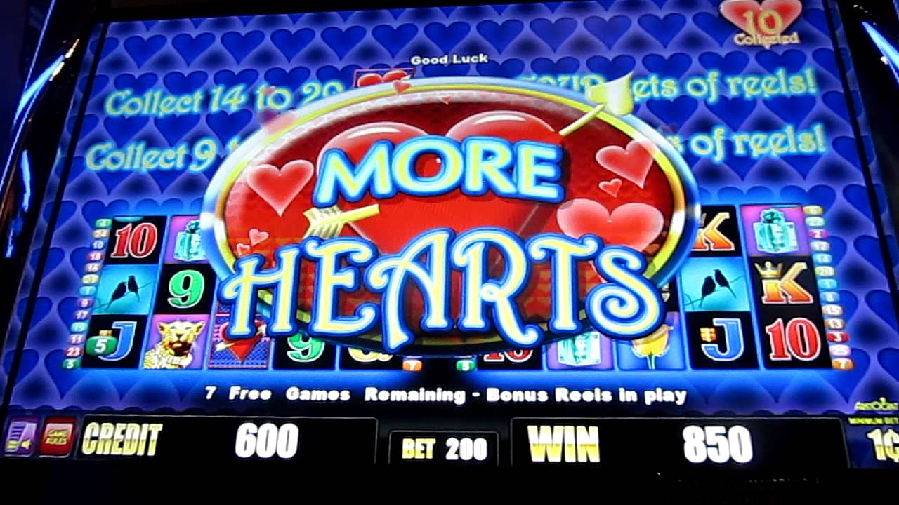 slot machine with bonus rounds