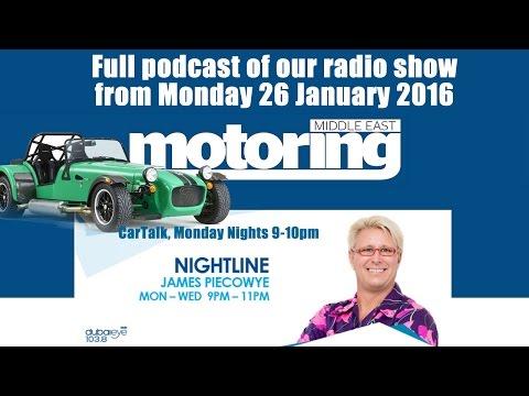 Car Talk Radio Show Podcast from 26 Jan 2016 on Dubai Eye
