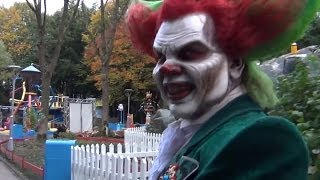 Walibi Holland Halloween Fright Nights - Eddie de Clown - 20 Oktober 2013
