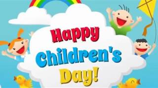Children's Day WhatsAppStatus - Happy Children's day