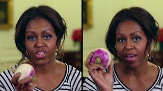 MICHELLE OBAMA: Turnip For What | What's Trending Now