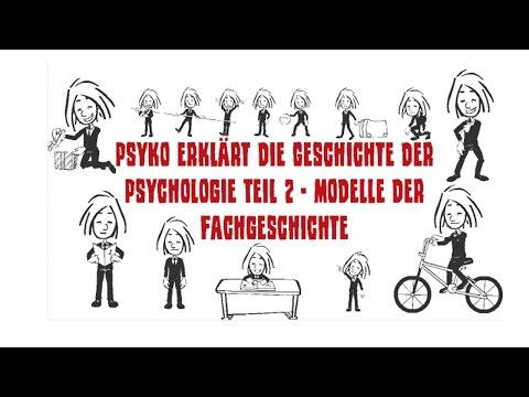 Psyko erklärt die Geschichte der Psychologie Teil 2 - Modelle der Fachgeschichte