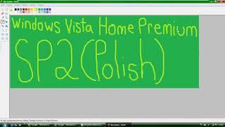 Windows Vista Home Premium with Service Pack 2 (Polish) in VMWare Workstation Pro!