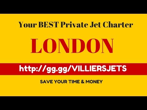 Private Jet Charter London To Paris