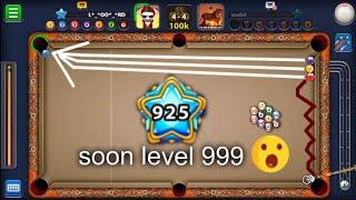 8 Ball Pool | Level 925 the Highest in the World(Walid damoni) VS Me | Trickshots highlights
