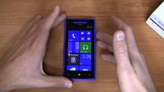 T-Mobile HTC Windows Phone 8X Unboxing