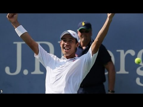 US Open Kei Nishikori beats Novak Djokovic in the semi finals