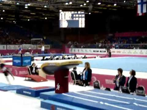 Larisa IORDACHE ROU Senior Qualification, European Gymnastics Championships 2012 Vault