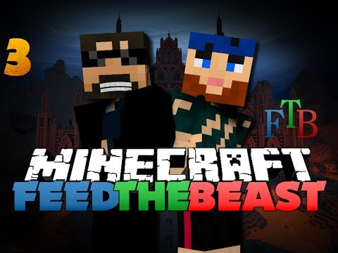 Minecraft Modded Survival - FTB 3 - BLAZE IT UP