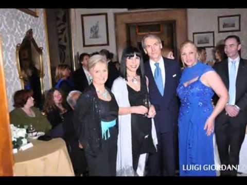 Roma 2012, Valeria Mangani e Antonello De Pierro al party di Sara Iannone