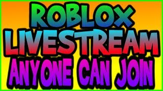 🔴 ROBLOX STREAM  // ANYONE CAN JOIN//  // YOU CHOOSE THE GAMES // ROAD TO 1.2K SUBS 🔴