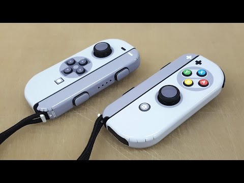 Nintendo Switch Joy-Con/Strap POP SKIN by 부착맨