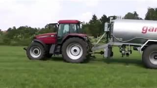 Traktoren im Einsatz Case IH Puma CVX und MX 150 mit Veenhuis  und Kotte Gülle fahren