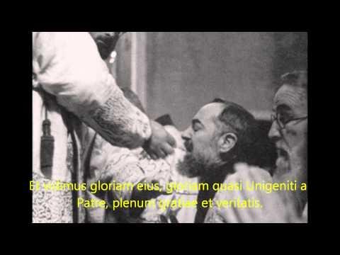 Gregorian Chant - Verbum caro