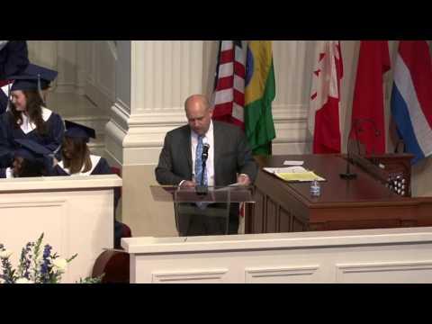 Patrick Hurworth - Atlanta International School graduation 2014