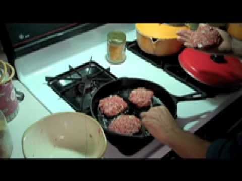 Quick and Easy Grass-Fed Beef Burgers #297