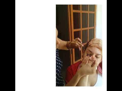 Dise o y depilaci n de cejas con hilo youtube for Diseno de cejas