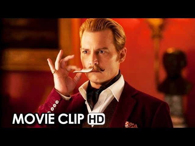 Mortdecai Official Movie CLIP (2015) - Johnny Depp HD