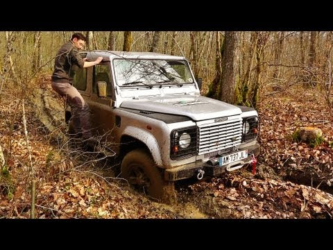 Defender 90 MUD - Off Road Land Rover