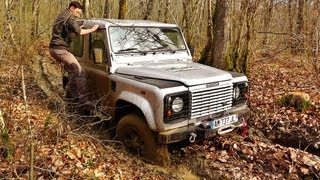 Defender 90 MUD - Off Road Land Rover