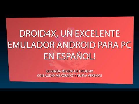 DROID4X Un excelente emulador de Android para PC 2015 Español - Review!