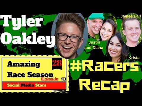 Amazing Race Season 28 Episode 10 Recap With Guest TYLER OAKLEY #RacersRecap