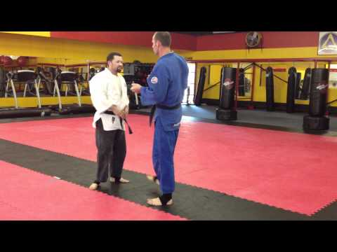 Seoi Nage Judo Throw (No-Gi) Image 1
