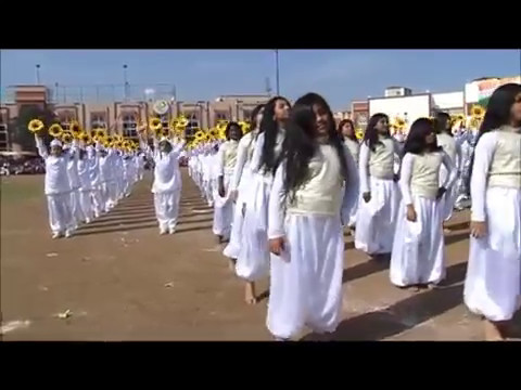 65th Indian Republic Day, 2014 - Grade 5 & 6 girls