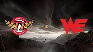 SK telecom T1 ( SKT ) vs Team WE ( WE ) | MSI 2017 Grup Aşaması 5. Gün