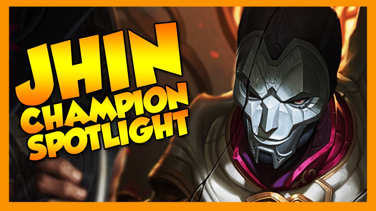 Jhin Champion Spotlight - League of Legends