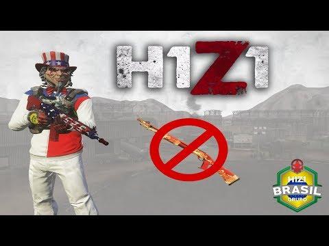 H1Z1 SOLO - PROIBIDO USAR A 12  - SÓ VALE AK47 / AR15