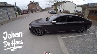 BMW 7 Series amazing technology: remote control parking / park assist / Gesture Control