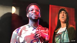 Gucci Mane Destroys Eminem, He's Is Not The King Of Rap |M.Reck Live