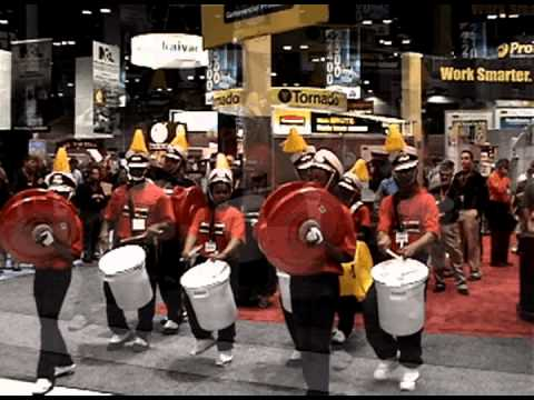 Chicago's King College Prep High School Drum Line Rocks Rubbermaid for ISSA