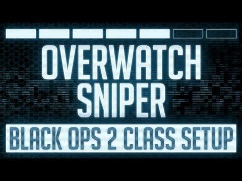 Overwatch Sniper : Black Ops 2 XPR-50 Class Setup