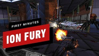 The First 15 Minutes of Ion Fury (1080p 60fps)