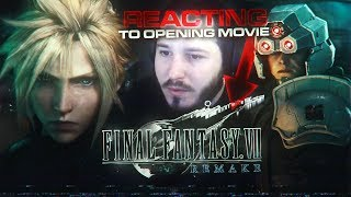 NICK REACTS: FINAL FANTASY VII REMAKE - Opening Movie