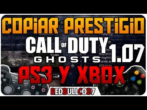 GHOSTS : TRUCO COPIAR / DUPLICAR PRESTIGIO COD GHOSTS PS3 & XBOX + CUENTA GRATIS| ReDBullCoD7